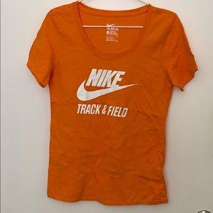 Orange Nike Shirt
